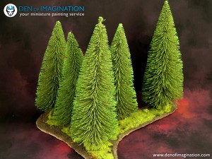 Magnetized Forest Medium