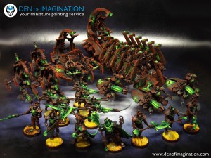 Rusty Necron Force